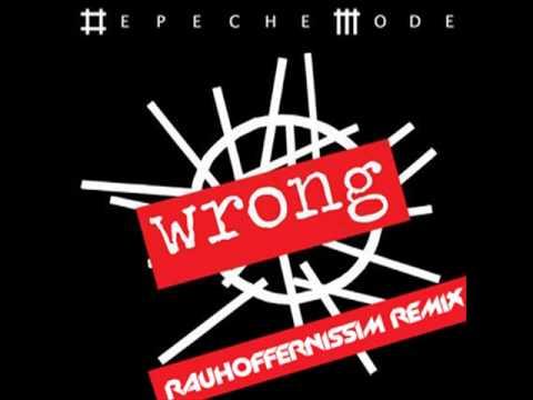 Depeche Mode  Wrg Rauhoffernissim Remix