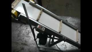 конвейер ленточный скребковый(Данный конвейер применяется в пещевой промышленность!Этот конвейер был изготовлен для перемещения крупы..., 2013-01-30T10:30:07.000Z)