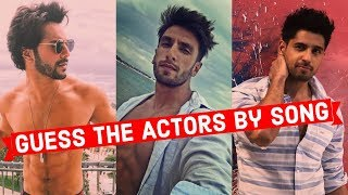 Guess the Actors By Song | Bollywood | Ready For the Challenge