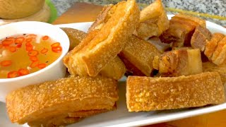 CRISPY LECHON KAWALI | How to Cook Super Crispy Fried Pork Belly