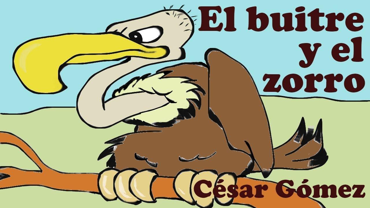 Poema Para Niños El Buitre Y El Zorro Poesía Infantil Cuentacuentos
