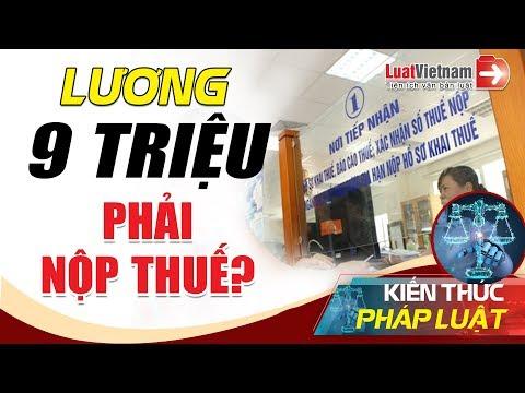 Thu Nhập Bao Nhiêu Phải Nộp Thuế Thu Nhập Cá Nhân?   LuatVietnam