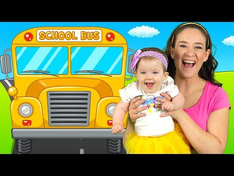 Wheels On The Bus - Nursery Rhymes And Kids Songs