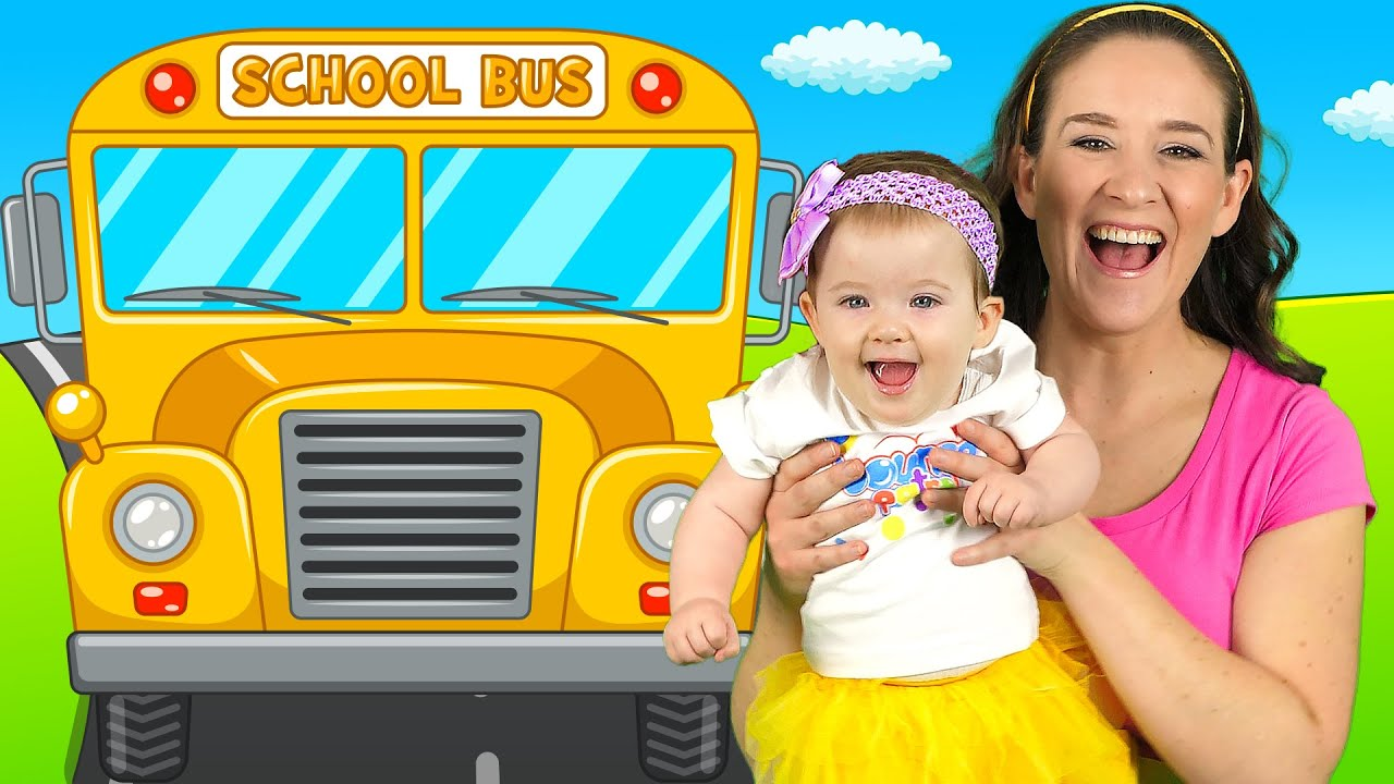 Wheels on the Bus - Nursery Rhymes and Kids Songs