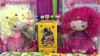 [이벤트 당첨자 발표] 헤어톡톡 컬리돌 & 터닝메카드 황금에반카드 EVENT Toys 라임튜브 LimeTube