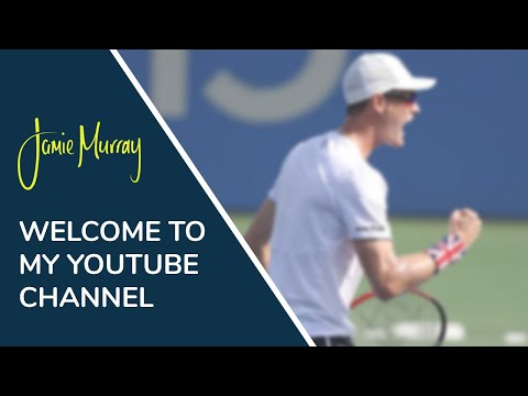 Jamie Murray launches Youtube channel
