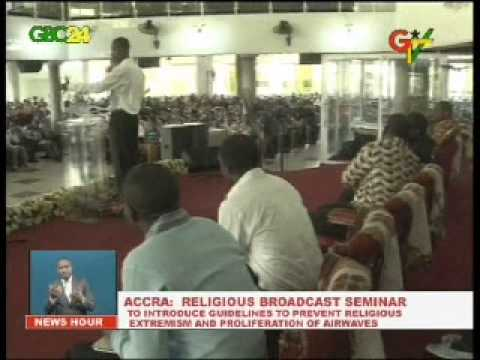 Guideleines for Religious Broadcast in the offing