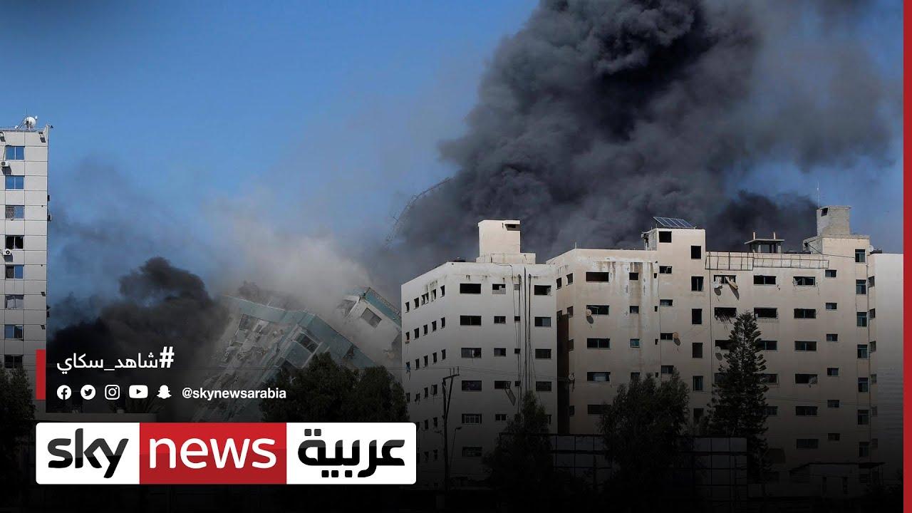 فلسطين وإسرائيل: الجيش الإسرائيلي: برج الجلاء كان يضم مصالح لحماس  - نشر قبل 11 ساعة