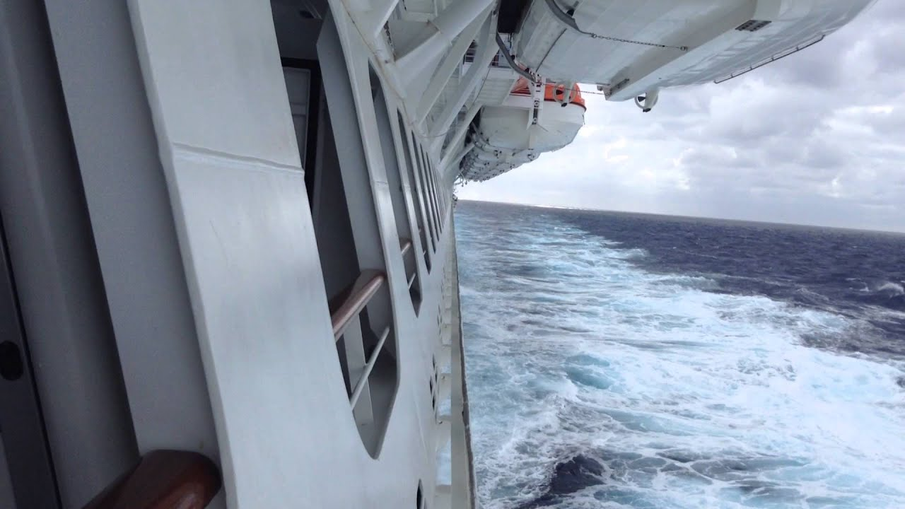Carnival breeze cove balcony 2248 forward youtube for Balcony view on cruise