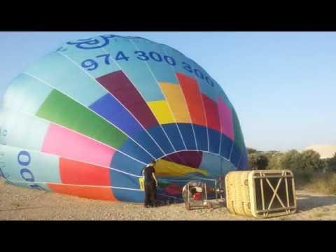 En globo por el Alcanadre
