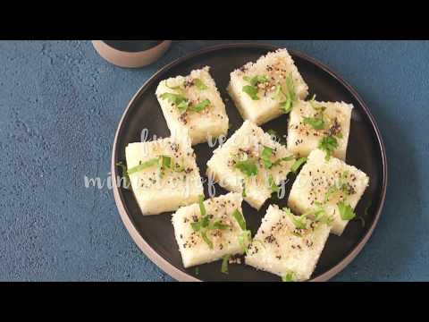 Rava Dhokla - Instant Pot - Ministry of Curry