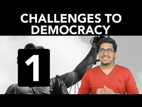 Civics: Challenges to Democracy (Part 1)
