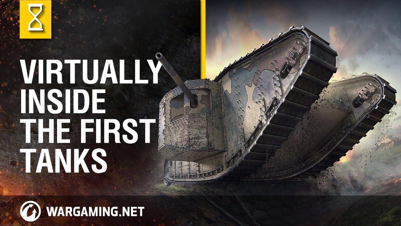 Wargaming Celebrates 100 Years Of Tanks Using Virtual Reality