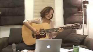 2013.8.18 森恵さんのUSTREAMライブより 〜12弦ギター弾き語りver. 【Ja...