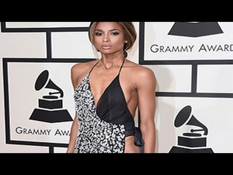 Grammy Awards 2016 - Ciara Goes COMMANDO At 58th Annual Grammys 2016 Red Carpet