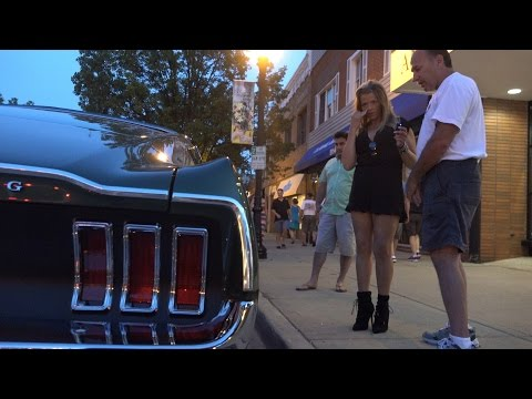 1967 Mustang Fastback - Great Night For a Car show -Downers Car Show
