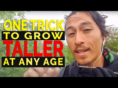 1 TRICK TO GROW TALLER AT ANY AGE