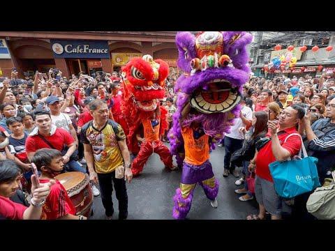 CHINESE NEW YEAR, LION DANCE CHINESE NEW YEAR LONDON 2019, TRAFALGAR SQUARE LONDON