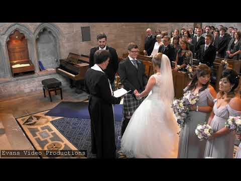 Zoe & Morgan's Wedding Video. Dunkeld Cathedral Perthshire