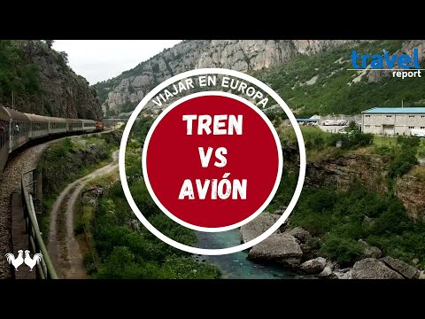 Viajar en Europa, ¿en tren o en avión?