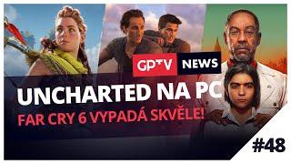 Uncharted na PC a podzimní herní pecky!   GPTV News #48