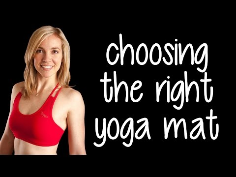 How to Choose a Yoga Mat with Lindsey | Best Yoga Mats? Rubber, Suede, Non-Toxic