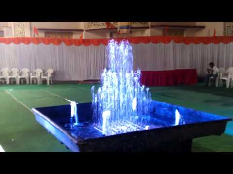 FRP Movable wedding cake fountain  by Beero fountain and fountains