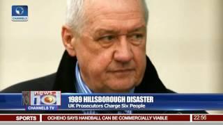 News@10: UK Prosecutors Charge Six People Over 1989 Hillsborough Disaster 28/06/17 Pt. 4 thumbnail