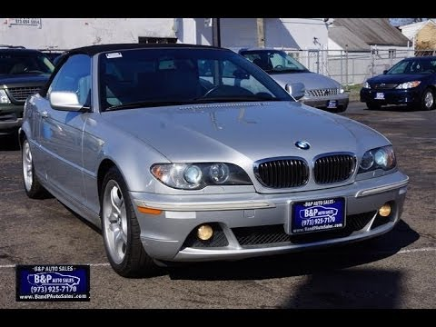 2004 bmw 3 series 325ci convertible youtube. Black Bedroom Furniture Sets. Home Design Ideas