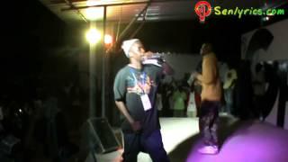 Senlyrics : Fou Malade Bat Haillon Blin D au concert FuknKuk au G hip hop 4 mai 2013