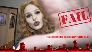 ROCKY HORROR MAGENTA HALLOWEEN MAKEUP TUTORIAL & FAIL | Madelaine Petsch