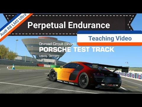 Porsche Short Track Endurance Teaching Video In The Audi R8 LMS Ultra