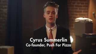 Push For Pizza, The Easiest Way To Order Pizza Ever.