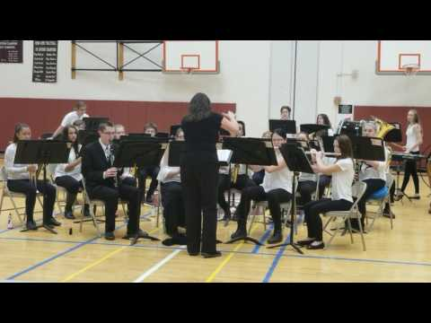"""FATE OF THE GODS"" performed by the Oxford Academy High School Band"