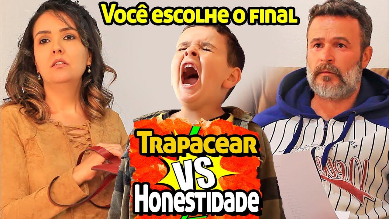 🤥🤔🤥 TRAPACEAR VS HONESTIDADE - VOCÊ ESCOLHE O FINAL 🤥🤔🤥