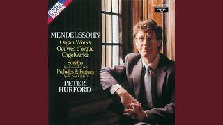 Mendelssohn Prelude and Fugue in G major Op 37