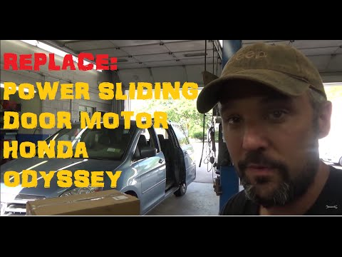 Replace: Honda Odyssey Power Sliding Door Motor & Roller