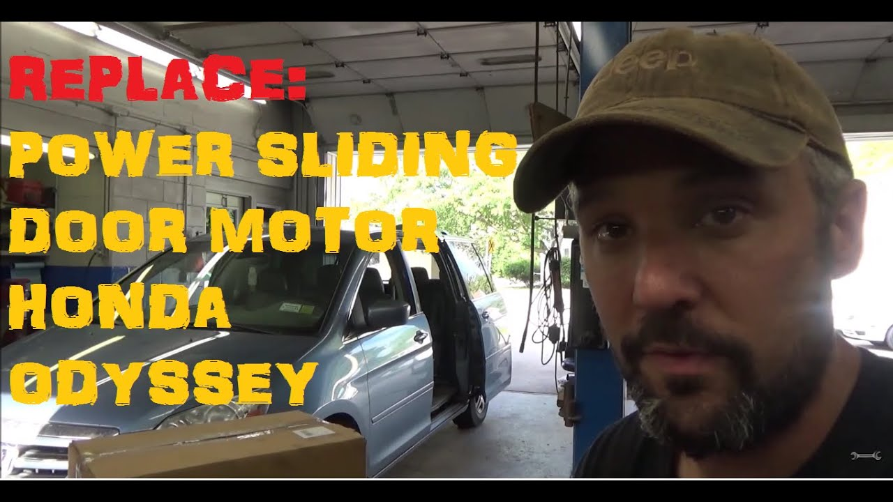 Replace Honda Odyssey Power Sliding Door Motor Roller Youtube