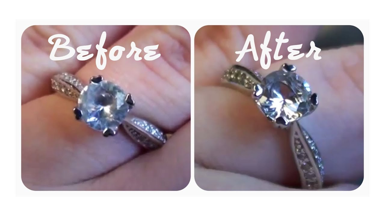 d1d5be9f2 QUICK TIP: How to Make your Engagement Ring REALLY Sparkle! (Cheap, Easy &  Effective) ☼