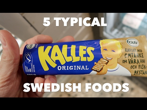 SWEDISH SUPERMARKET: 5 TRADITIONAL FOODS
