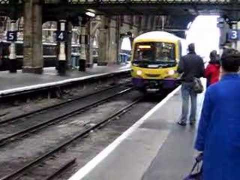 Cambridge train arrives in King's Cross
