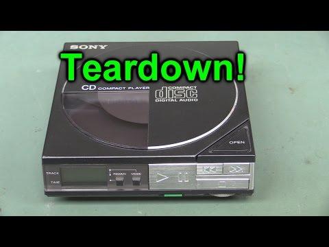 EEVblog #863 - Sony D50 Discman Teardown - World's First Portable CD Player