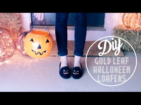 DIY Halloween Loafers // LaMadelynn