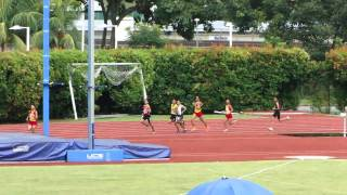 1500m Boys Under-18 : 37th Singapore Junior Athletic Championships 2011