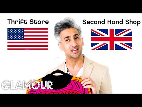 Tan France Breaks Down American vs. British Fashion Terms | Glamour