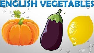 Çocuklar İçin İngilizce Sebzeler 1, English Vegetables for Kids