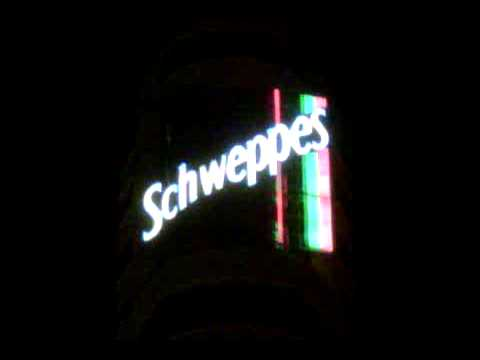 Schweppes Advertising, Capitol, Plaza Callao, Madrid