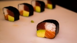 Maki sushi recipe - Japanese food recipe - Four seasons sushi roll