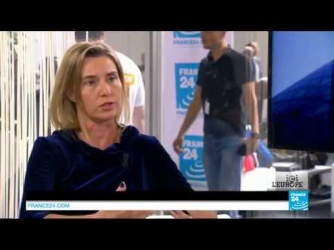 EXCLUSIF - Interview de Federica Mogherini, chef de la diplomatie européenne