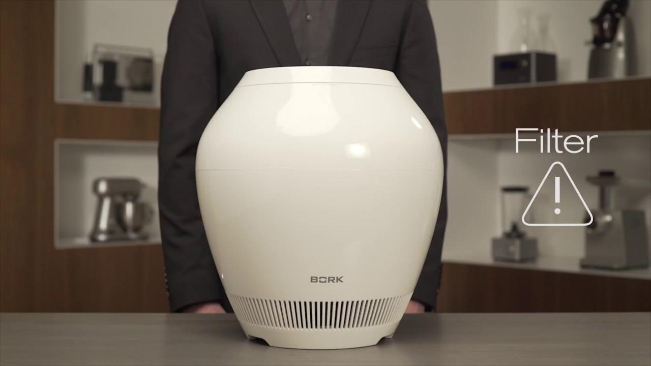 Bork H701: видеообзор ультразвукового увлажнителя - YouTube